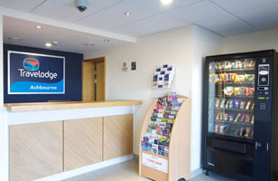 Travelodge Ashbourne Hotel reception
